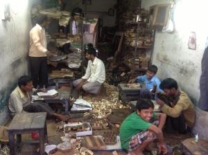 Block master's shop