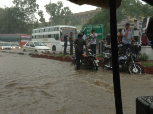 Monsoon floods