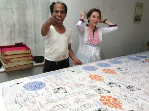 Gopal ji, block printing master