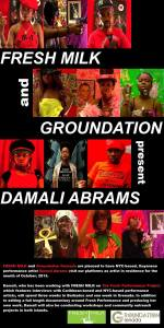 damali abrams' residency in Barbados & Grenada